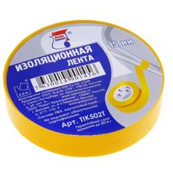 """Изолента ПВХ 15мм*20м желтая """"Klebebander"""""""