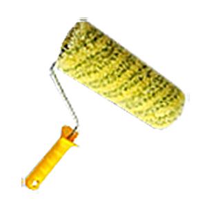 """Валик полиакрил 180мм, бюгель 6 мм. желто-зелен. полосой """"Желтый полосатик"""" (383-5180)"""