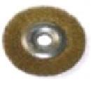 """Щетка-крацовка дисковая, для УШМ, латун.витая проволока, 125мм, Китай 2302002 """"T4P"""""""