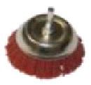 """Щетка-крацовка чашечная, полимерн. проволока (P120), для дрели, 75мм, Китай 2302071 """"Т4Р"""""""