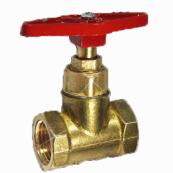 Клапан запорный Ду50 Ру16 г/г до 200гр. латунь 15б1п (Цветлит)