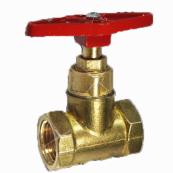 Клапан запорный Ду40 Ру16 г/г до 200гр. латунь 15б1п (Цветлит)
