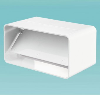 """Соединитель плоского канала с обратным клапаном 60х120мм в упак. (7171) """"Вентс"""""""