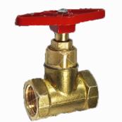 Клапан запорный Ду32 Ру16 г/г до 200гр. латунь 15б1п (Цветлит)
