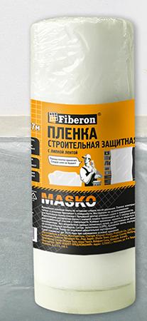 """Пленка защитная с клейким слоем 1400мм x 17м """"Fiberon"""""""