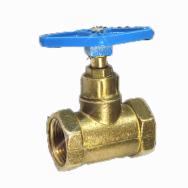 Клапан запорный Ду40 Ру16 г/г до 70гр латунь 15б3р (Цветлит)