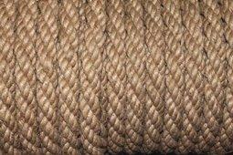 Веревка джутовая д 16мм 20м