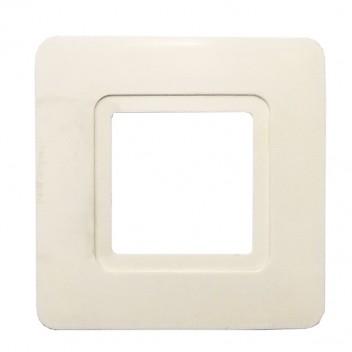 """Накладка под выключатель белая """"Сар""""(810)"""
