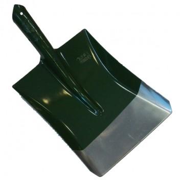 Лопата совковая, сталь 65Г, зеленая