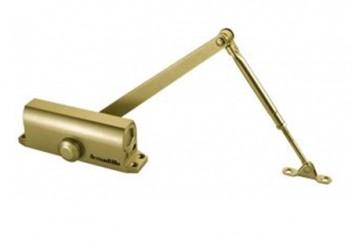 Доводчик дверной морозостойкий LY3 65 кг (золото) Armadillo
