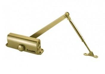 Доводчик дверной морозостойкий LY5 120 кг (золото) Armadillo