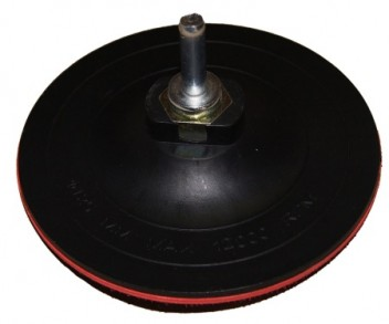 Диск опорный д/кругов 125мм (М14) 3-4мм с адаптером д/дрели TSUNAMI
