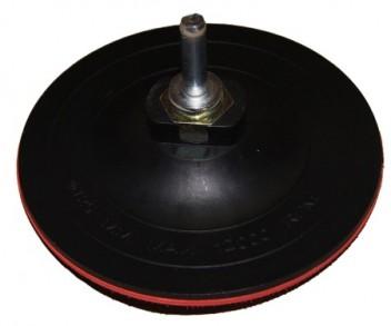 Диск опорный д/кругов 150мм (М14) 10мм с адаптером д/дрели TSUNAMI