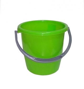 Ведро 7л зеленое ПП