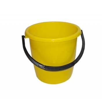 Ведро 10л желтое ПП