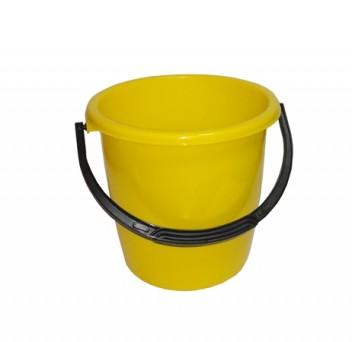 Ведро 12л желтое ПП