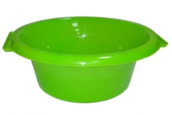 Таз круглый 7,5л зеленый ПП