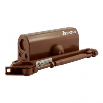 Доводчик ISP 430 (от 50 до 110кг) морозостойкий (коричневый)