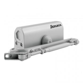 Доводчик ISP 430 (от 50 до 110кг) морозостойкий (серебро)