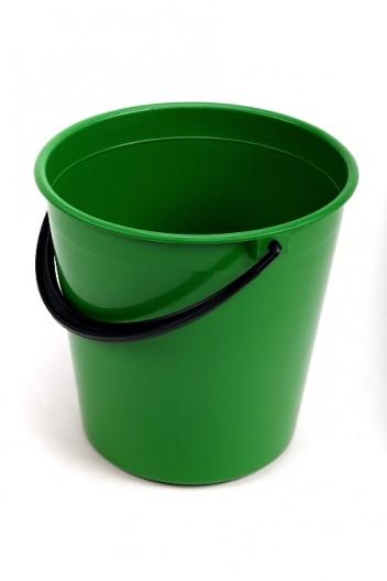Ведро пластмасс. 10л зеленый/салатовый МП